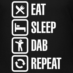 Eat - Sleep - The Dab - Repeat (Dabbing) Baby & Toddler Shirts - Toddler Premium T-Shirt
