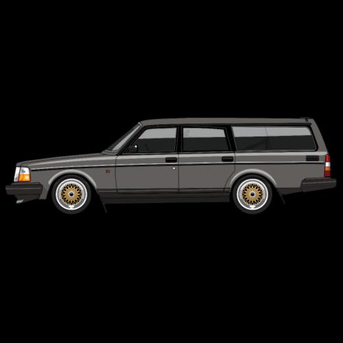 245 240 Gray Wagon