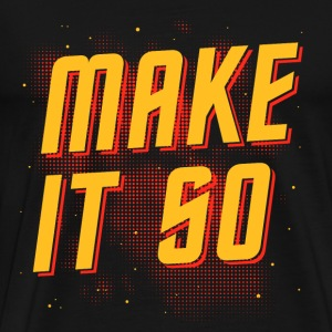 Make it so Star - Men's Premium T-Shirt