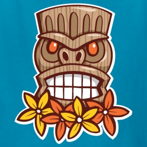 Big Grin Tiki - Kids' T-Shirt