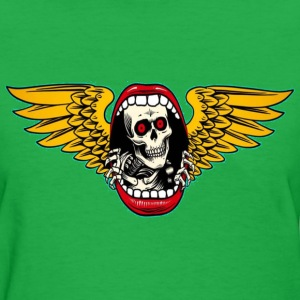 Skull with wings T-Shirts - Women's T-Shirt