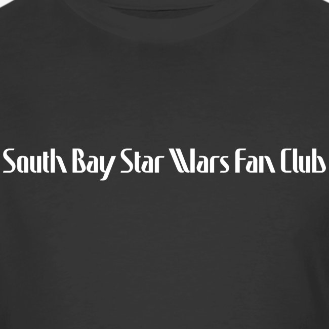 Men's Black Dual SBSWFC Star Wars 40th Anniversary Jerzees Tee [Alternate]