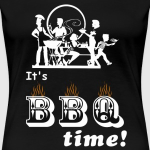 Time BBQ Chef - Women's Premium T-Shirt