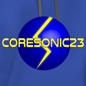 Coresonic23 Offical Logo - Contrast Hoodie