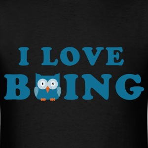 i_love_bowling_owl_06_201703 T-Shirts - Men's T-Shirt