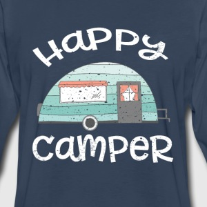 Happy Camper  Long Sleeve Shirts - Men's Premium Long Sleeve T-Shirt