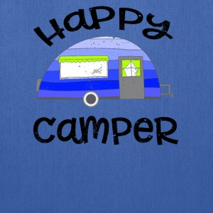 Happy Camper Vintage Bags & backpacks - Tote Bag