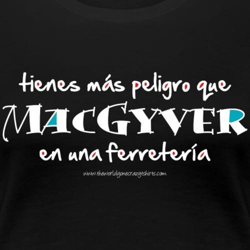 MacGyver en una ferreteria (dark)