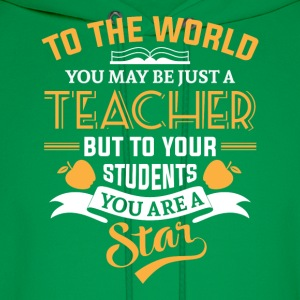 Teacher Star Hoodies - Men's Hoodie