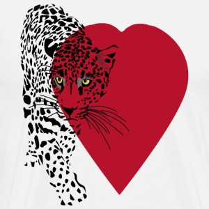 Love Wild Cat - Men's Premium T-Shirt
