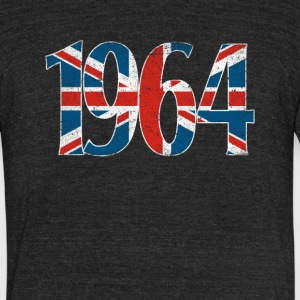 1964 T-Shirts - Unisex Tri-Blend T-Shirt by American Apparel