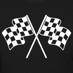 Checkered Flags Women's T-Shirts