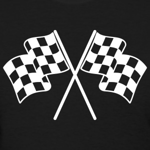 Checkered Flags Women's T-Shirts - Women's T-Shirt