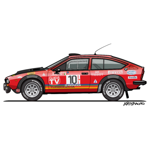 Alfetta GTV 2000 Turbodelta FIA Group 4