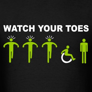 Watch your toes - Men's T-Shirt