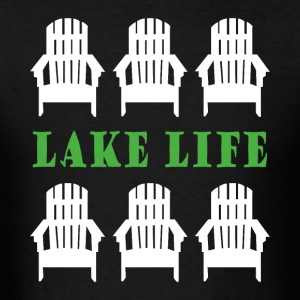 Lake life - Men's T-Shirt