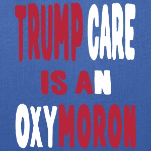 trump care oxymoron Bags & backpacks - Tote Bag