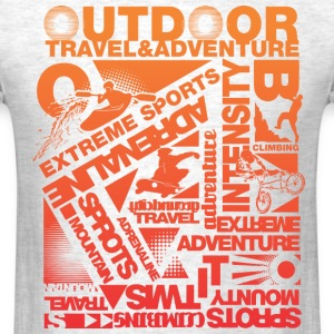 Xtreme adventure - Men's T-Shirt