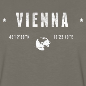 Vienna Long Sleeve Shirts - Men's Premium Long Sleeve T-Shirt