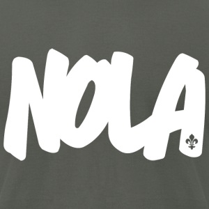 NOLA Brushed B American Apparel T-Shirt - Men's T-Shirt by American Apparel