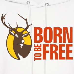 Born To Be Free 5 (dd)++ Hoodies - Men's Hoodie