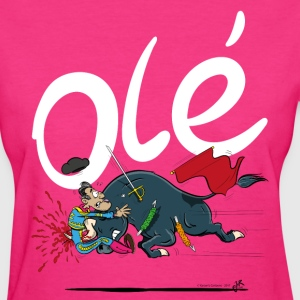 Olé, Bad luck Bullfighter (women, midtone shirts) - Women's T-Shirt