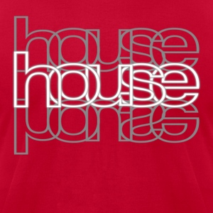 House Music T-Shirt - Men's T-Shirt by American Apparel