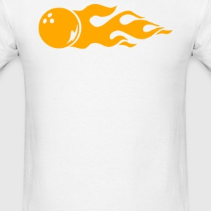 Bowling Fire - Men's T-Shirt