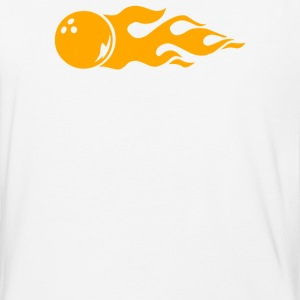 Bowling Fire - Baseball T-Shirt