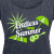 Endless Summer Flowy T-Shirt - Navy, Green, White - Women's Roll Cuff T-Shirt