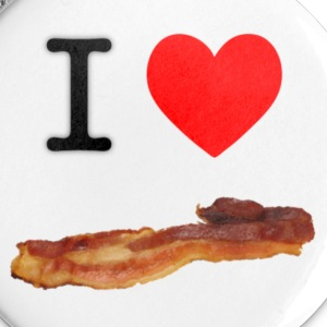 I Heart Bacon Buttons - Small Buttons