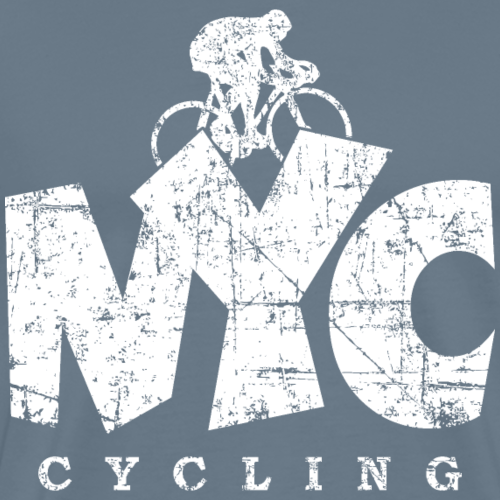 NYC Cycling Distressed White