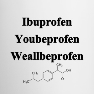 Ibuprofen Chemistry Humor Accessories - Coffee/Tea Mug