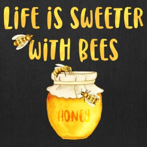 Life's Sweeter With Bees Bags & backpacks - Tote Bag