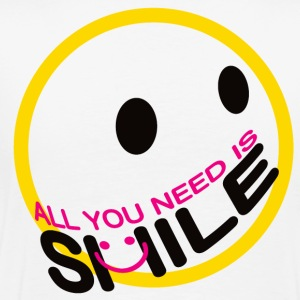 ALL YOU NEED IS SMILE. - Men's Premium T-Shirt