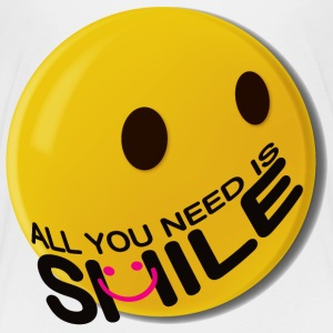 ALL YOU NEED IS SMILE. - Kids' Premium T-Shirt