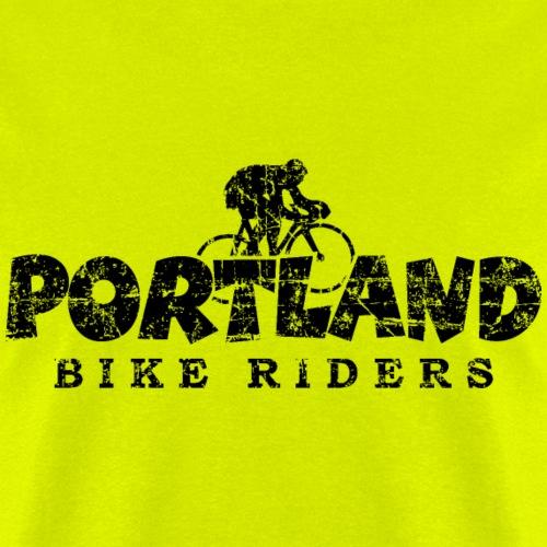 Portland Bike Riders Distressed Black