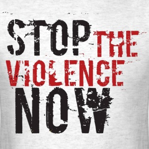 Stop The Violence Tee - Men's T-Shirt