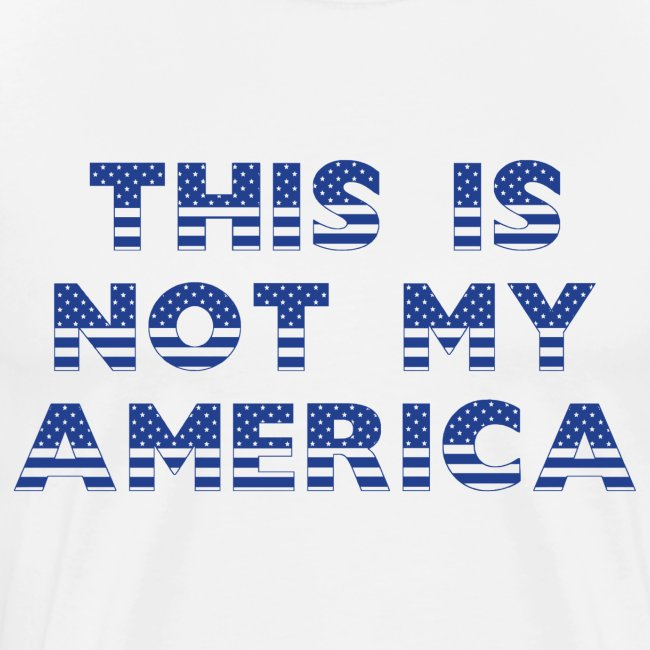 THIS IS NOT MY AMERICA