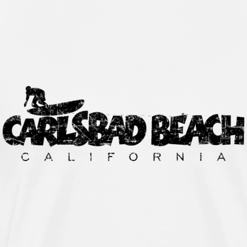 CARLSBAD BEACH CALIFORNIA Surf Design