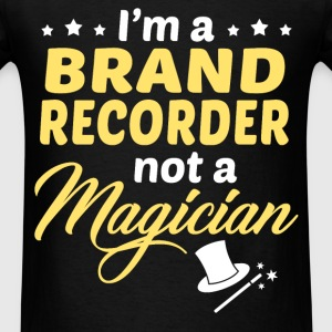 Brand Recorder - Men's T-Shirt