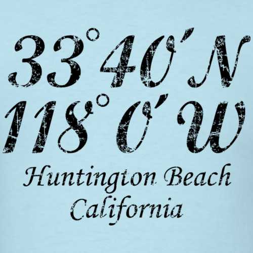 Huntington Beach, California Coordinates