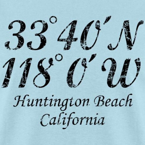 Huntington Beach, California Coordinates
