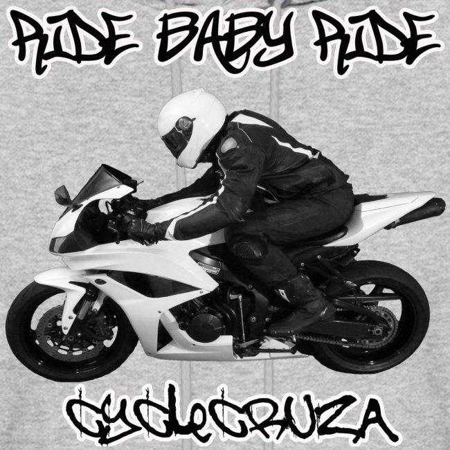 CycleCruza Ride Baby Ride Men's Hoodie