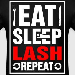 Eat Sleep Lash Repeat - Men's T-Shirt