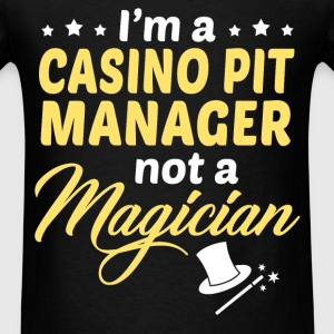 Casino Pit Manager - Men's T-Shirt
