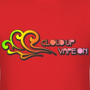 Cloud Up Vape On - Colors - M - Men's T-Shirt