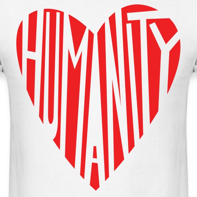 HUMANITY HEART by: Peter Mclean (ptermclean designs)
