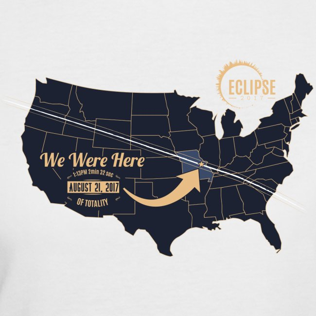 Eclipse 2017 - Womens Jersees Tee