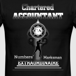 Chartered Accountant Extraordinaire Mens Ringer T- - Men's Ringer T-Shirt